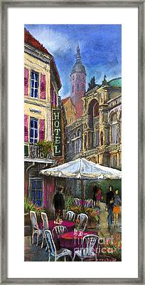 Germany Baden-baden 07 Framed Print by Yuriy  Shevchuk