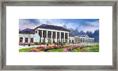 Germany Baden-baden Kurhaus Kasino Framed Print by Yuriy  Shevchuk