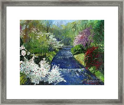 Germany Baden-baden Spring Framed Print by Yuriy  Shevchuk