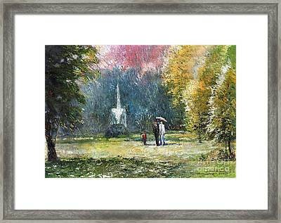 Germany Baden-baden Framed Print by Yuriy  Shevchuk