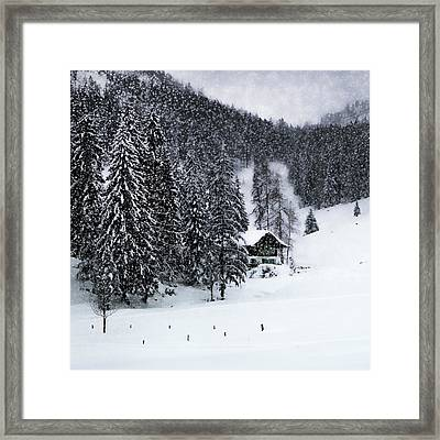 Germany Bavarian Winter's Tale Ix Framed Print by Melanie Viola