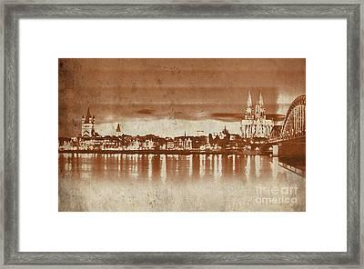 Germany Bridge 091 Framed Print