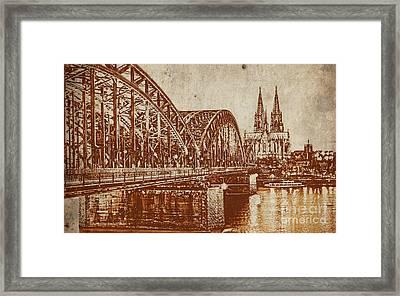 Germany Bridge  Framed Print by Gull G