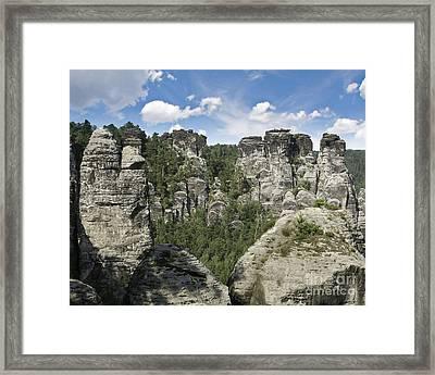 Germany Landscape Framed Print