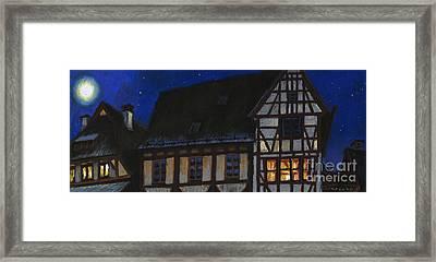 Germany Ulm Fischer Viertel Moonroofs Framed Print by Yuriy  Shevchuk