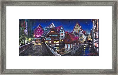 Germany Ulm Fischer Viertel Framed Print by Yuriy  Shevchuk