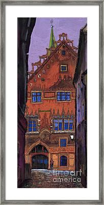 Germany Ulm Framed Print by Yuriy  Shevchuk