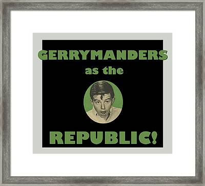 Gerry Manders Framed Print