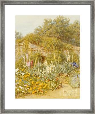 Gertrude Jekyll's Garden, Munstead Wood Framed Print