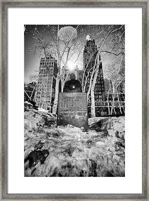 Gertrude Framed Print by John Dryzga