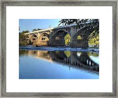 Gervais Street Bridge-1 Framed Print