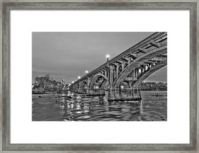 Gervais Street Bridge II Framed Print