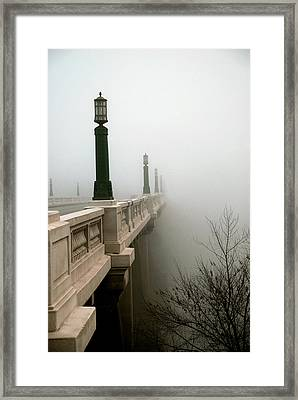 Gervais Street Bridge Framed Print