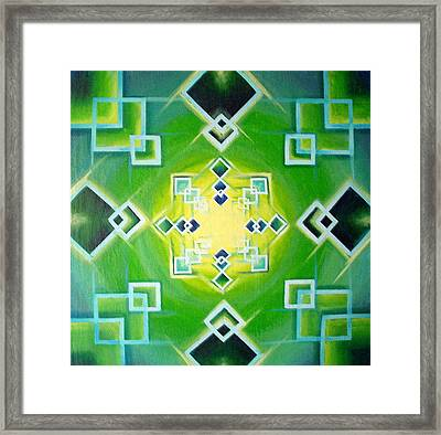 Gestalt Framed Print by Morgan  Mandala Manley