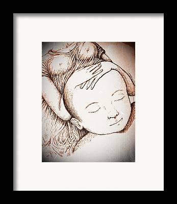 Mentally Sane Framed Prints