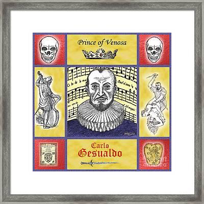 Gesualdo Framed Print by Paul Helm