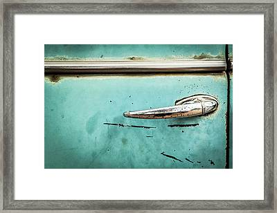 Get A Handle On It Framed Print