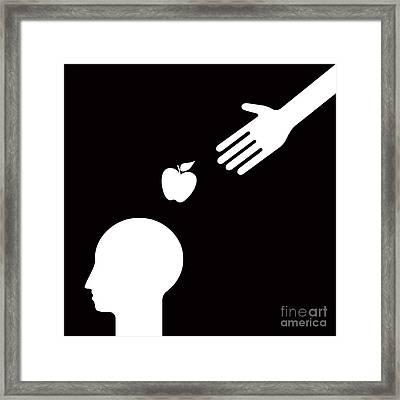 Get An Idea Framed Print by Igor Kislev
