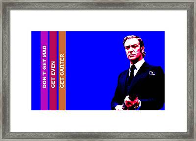 Get Carter Framed Print by Martin James