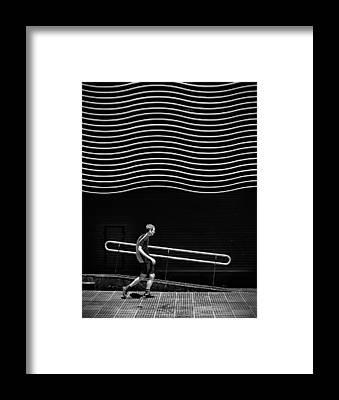 Curved Framed Prints