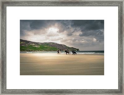 Get Home Quick Framed Print