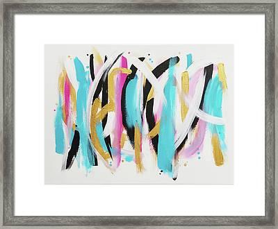Get In Line 1 Framed Print