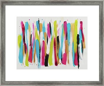 Get In Line 2 Framed Print