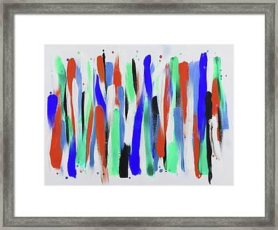 Get In Line 4 Framed Print