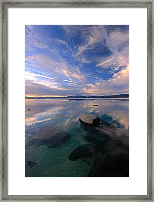 Get Into Nature Framed Print