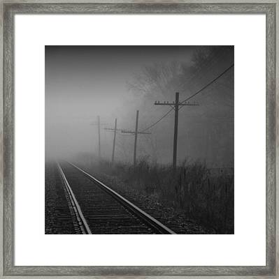 Get Me Outta Here Framed Print by Russell Styles