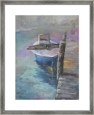 Get On Board Framed Print by Susan Richardson