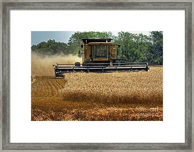 Get R Done Framed Print by Fred Lassmann
