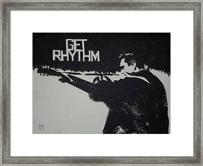 Get Rhythm Framed Print by Pete Maier