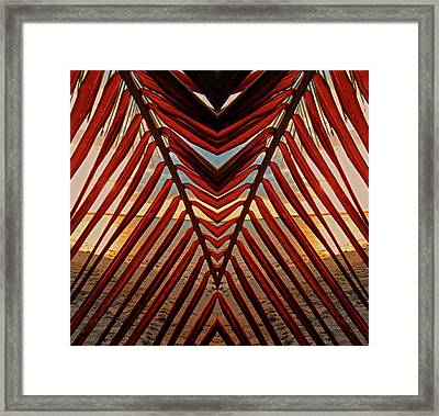 Get To The Point Framed Print by Stephen Anderson
