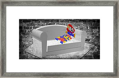 Get Up And Play Framed Print
