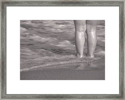 Get Your Feet Wet Framed Print by JAMART Photography