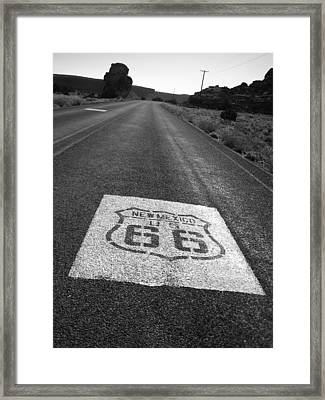 Get Your Kicks In New Mexico Framed Print by Eric Foltz