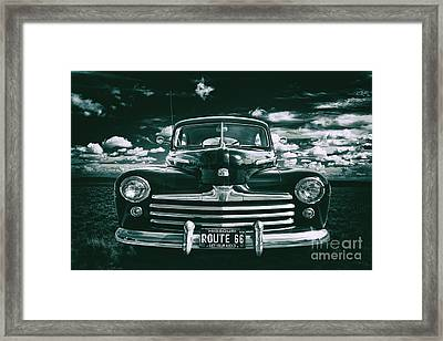 Framed Print featuring the photograph Get Your Kicks by Mark Miller