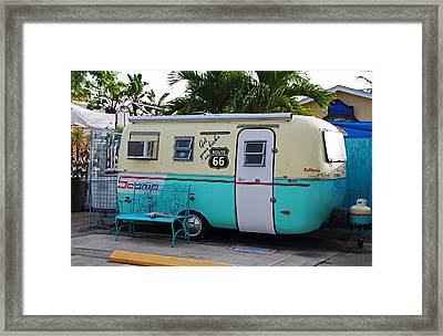 Get Your Kicks Framed Print