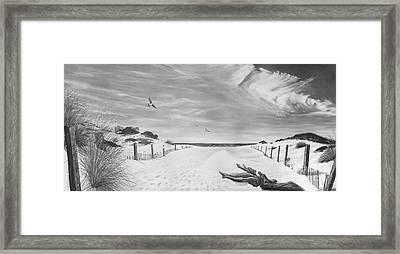 Getaway Framed Print by Bobby Goldsmith