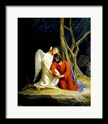 Carl Bloch Framed Prints