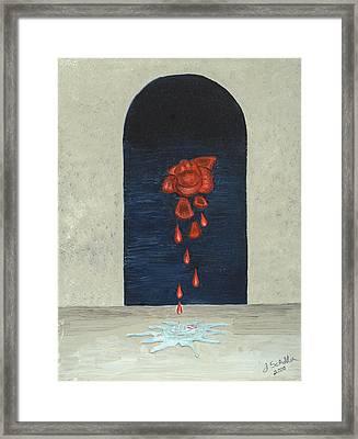 Gethsemane Framed Print by John Schuller