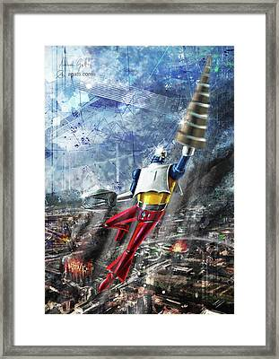 Getter2 Framed Print by Andrea Gatti