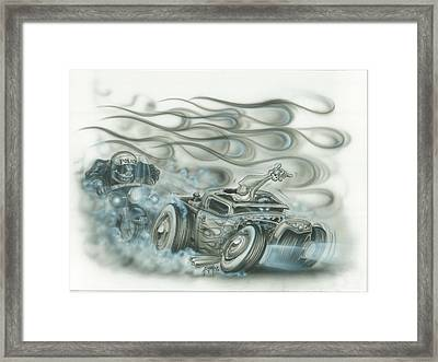 Gettin Away Framed Print by Mike Royal