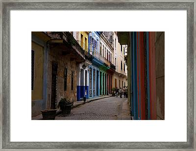 Getting Around Framed Print