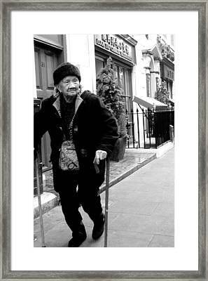 Getting Out Framed Print by Jez C Self