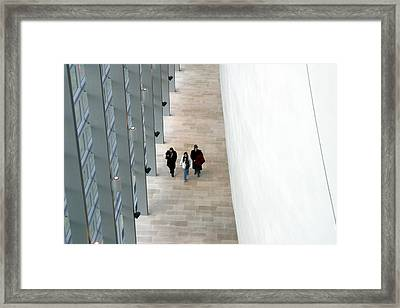 Getting Out The Long Way Framed Print by Jez C Self