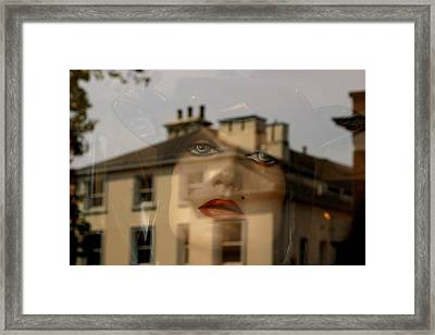 Getting Out With The Rest Of You Framed Print by Jez C Self