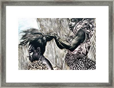 Getting Ready Framed Print by Chester Elmore