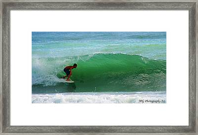 Framed Print featuring the photograph Getting Some Shade by Marty Gayler